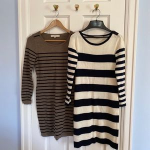Loft Sweater Dress Bundle, Women's Size XS Petite
